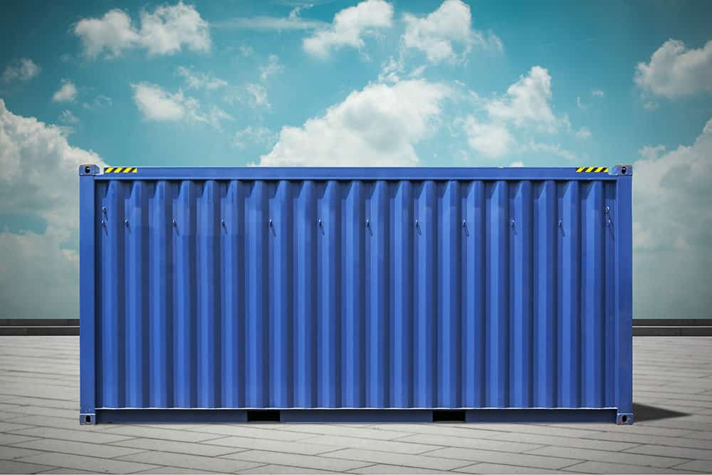 Rent or buy a shipping container